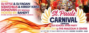 ST PAUL'S CARNIVAL OFFICIAL AFTER PARTY – JULY 6, 2019
